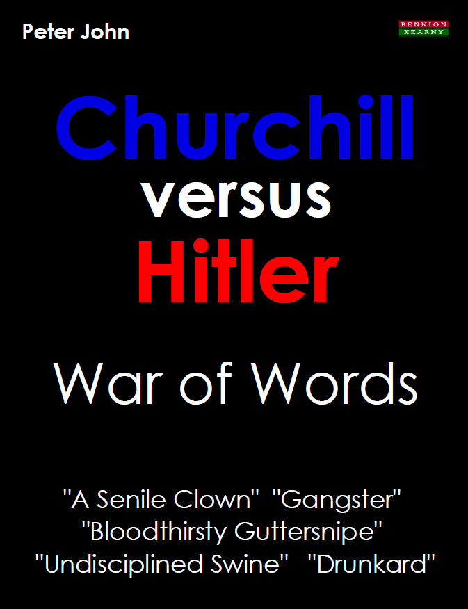 Churchill versus Hitler Book Cover