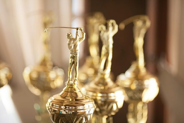 Golf Trophies for Rising Stars