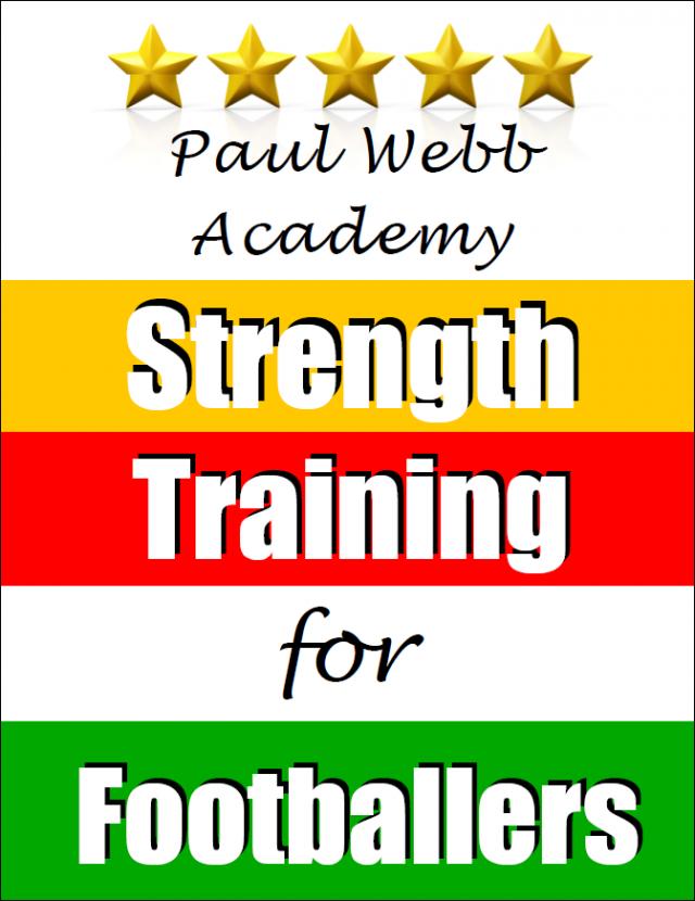 Paul Webb Strength training for footballers