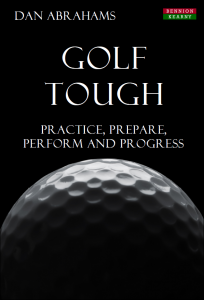 Golf Psychology Book Cover | Golf Tough