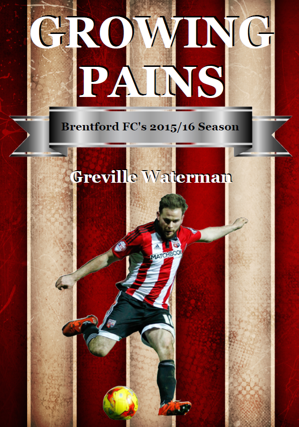 Growing Pains - Brentford FC Book Cover
