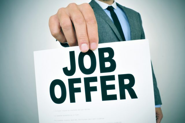 Probation Job Offer