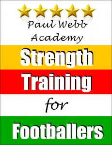 Paul Webb Strength training for footballers