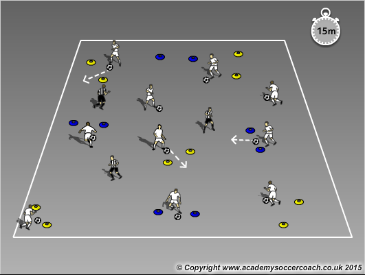 Free Soccer Training Exercise
