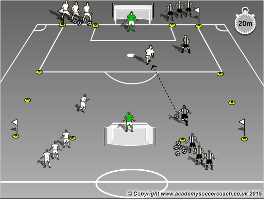 Free Football Training Exercise