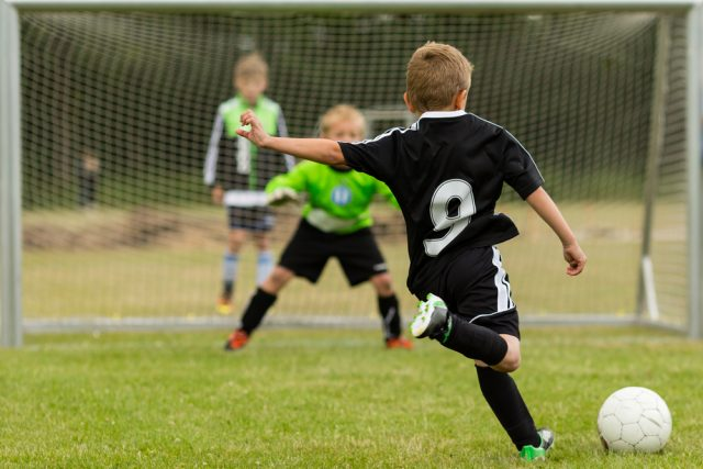 Early specialisation in soccer