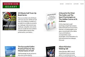 Golf Putting Tips Bennion Kearny books