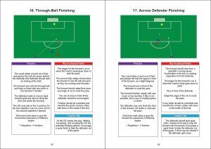 soccer striker training examples