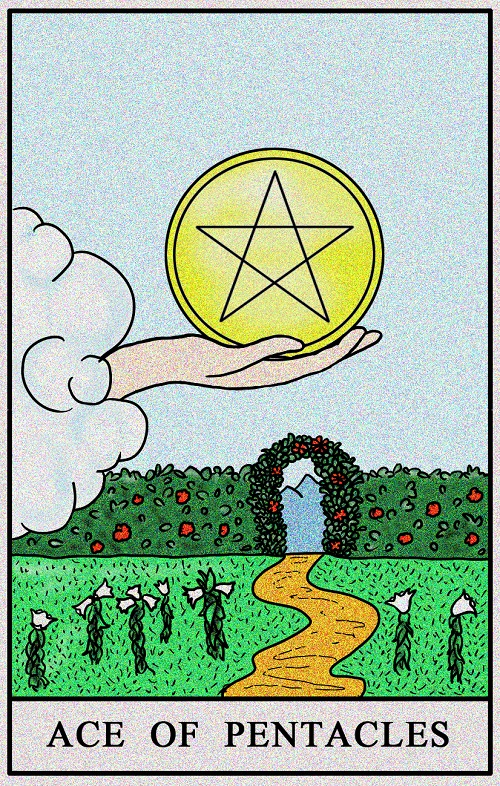 Ace of Pentacles Meaning