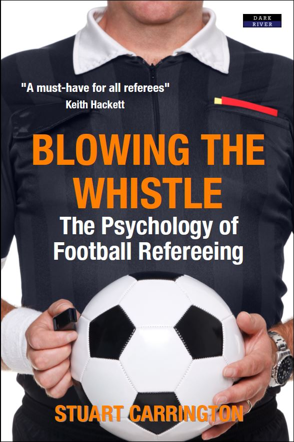 Blowing The Whistle Football Referee Book