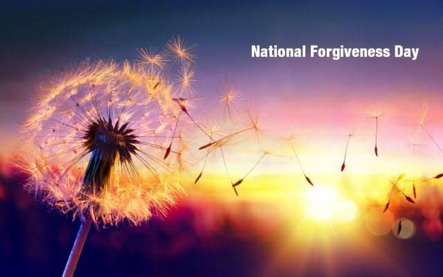 National Forgiveness Day 2019