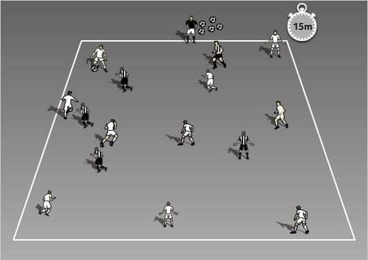 Soccer Drills for Kids - Unbalanced Possession