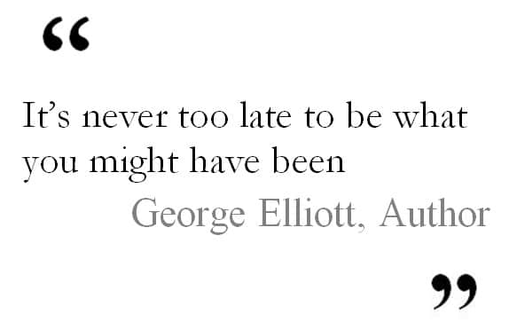 George Elliott quote