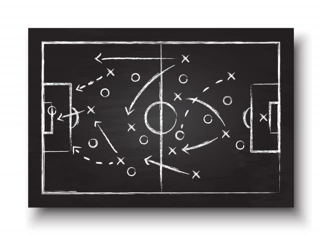 Football Coaching Books Blackboard